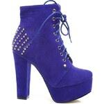 BLESS Extravagantní boty s nýtky