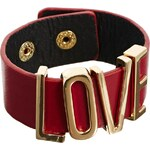 Designsix Red Love Cuff