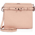 Valextra Leather B-Tracollina Shoulder Bag