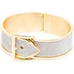 Lesara Armband im Gürtel-Design - Gold