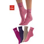 S.OLIVER Ponožky, s.Oliver (4 páry) růžová+béž.melír+růž+lila