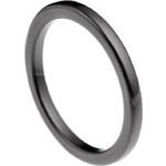 Lesara Keramik-Ring - Schwarz - 50