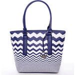 Modrá elegantní kabelka David Jones Whitney modrá