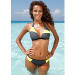 bpc bonprix collection Neckholder-Bikini in grau von bonprix