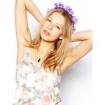 Rock' N Rose Purple Lydia Hair Crown - Purple