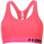 Under Armour Mid Impact Bra Womens, pink