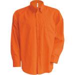 Pánská košile Nevada - Oranžová S