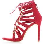 Ideal Červené sandály Waleria