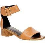 Vagabond Kožené sandály s kotníkovým páskem