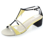 Tom&Eva Béžovo-žluté sandály Jasmina