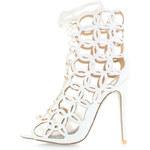 Bebo Bílé sandály Bina