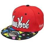 LightInTheBox Men's And Women's New York Color Inkjet Paint Graffiti Fat Street Dance Hip Hop Baseball Hat