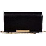 Emilio Pucci Leather Wallet Clutch with Chain Strap