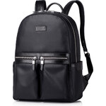 Pánský kožený batoh Sammons černý