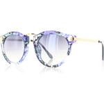 City vision Modro-zelené sluneční brýle Kveta