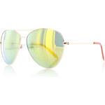 City vision Žluto-zelené sluneční brýle Valeris