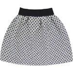 IFA MODA Dámská letní sukně černo bílá (3095/4)