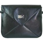 Dara bags Kabelka Little Miss Envelope No. 49 Shiny Black
