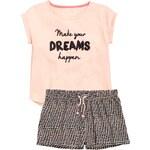 H&M Pyžamová souprava s šortkami