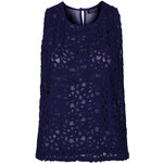 Topshop Crochet Front Shell Top