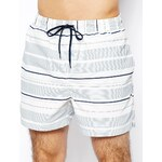 Selected Classic Stripe Swim Shorts