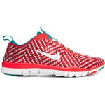 Nike Red Chequered Free 5.0 Tr Fit 4 Trainers
