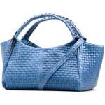 Kožená kabelka Celinia modrá
