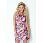 SAF Dámské šaty Akvarel růžová vášeň