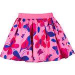 MMDadak Dívčí sukně s motýlky - růžové