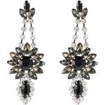 sweet deluxe Ohrringe crystal/grey/black