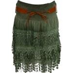 Made in Italy Dámská sukně s páskem