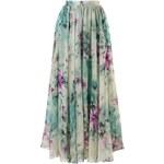 CHICWISH Dámská sukně Maxi Květinový sen Velikost: M