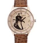 hodinky Black Cat 6013 hnědé