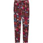 H&M Vzorované žerzejové kalhoty