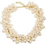 Náhrdelník Noelia s perlami bílý C56543