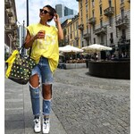 Army shopper Mia Bag , Barva žlutá