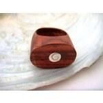 Dřevěný prsten Moře