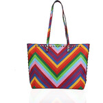 GESSY by LYDC Barevný shopper Gessy London Rainbow