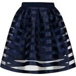 MOSQUITO Dámská sukně Stripes modrá Velikost: L
