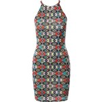 Dámské Mini šaty Evita DS28MB Barva: Vícebarevná,