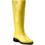 Holínky MELISSA - Melissa Long Boot Ad 31917 Yellow/Black 51660