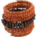 náramek Sittar Solma - Orange/Brown