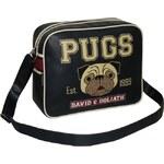 Modrá taška David & Goliath Pugs