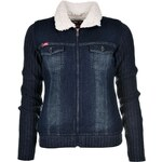 Bunda Lee Cooper Lined Denim dám.