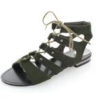 United Fashion Zelené sandály Julier