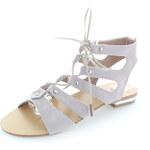 United Fashion Světle fialové sandály Julier