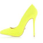United Fashion Neónově žluté lodičky Envia
