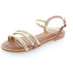 United Fashion Hnědé sandály Lydie