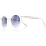 City vision Bílé sluneční brýle Colombo