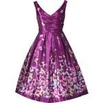 Retro šaty Lindy Bop Aurora Butterfly